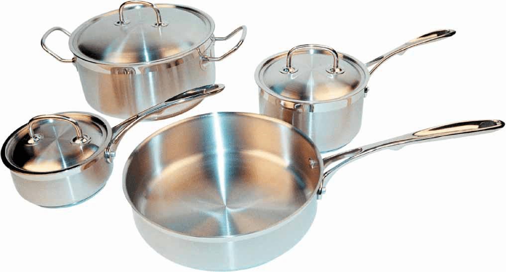 Deluxe SS 7pcs Cookware Set