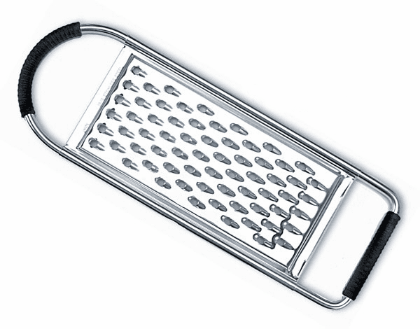 Flat Large Hole Cheese Grater