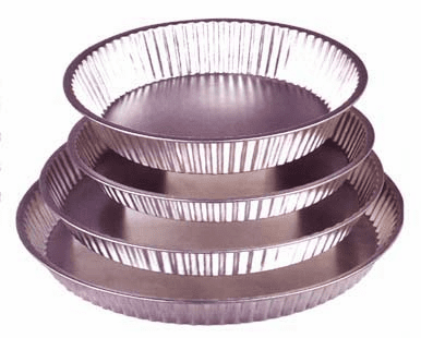 Fluted Pie Pan