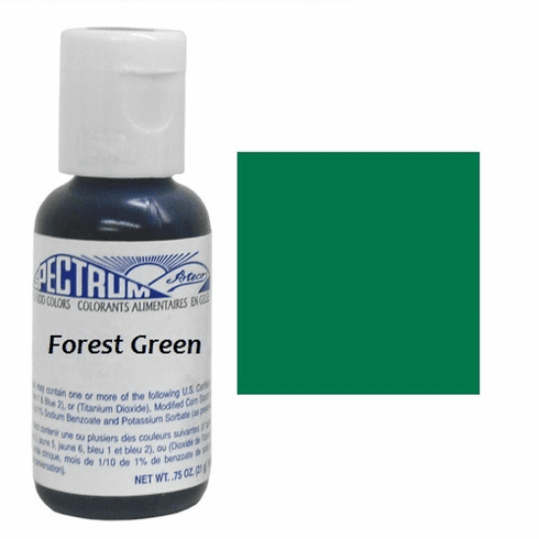 Forest Green gel food coloring