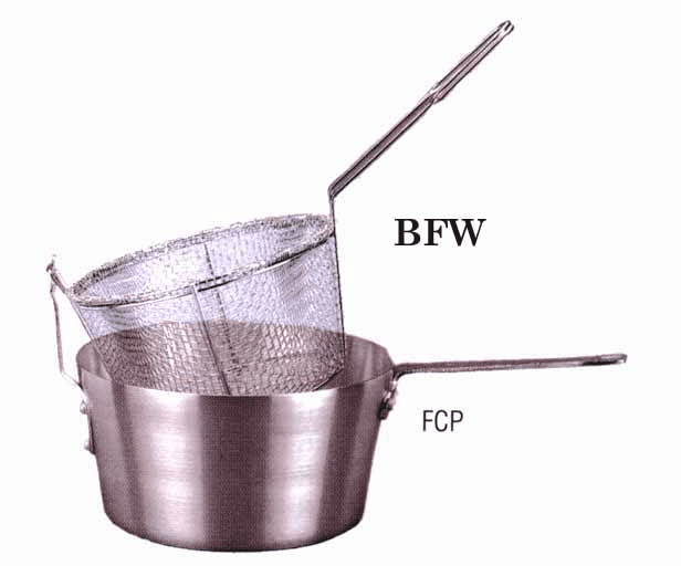 Four Mesh Fryer Baskets