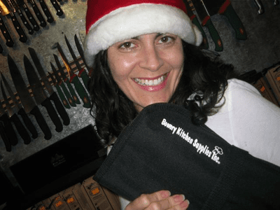 Free Gift with a $100 purchase of knives