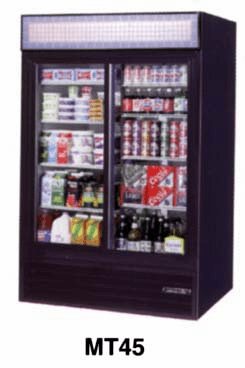 Glass Door Refrigerator 45 C.F.