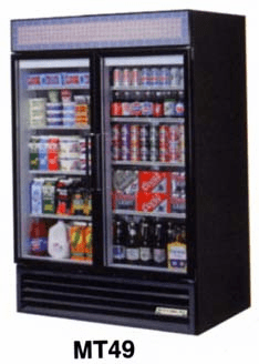 Glass Door Refrigerator 49 C.F.