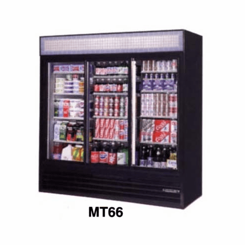 Glass Door Refrigerator 66 C.F.