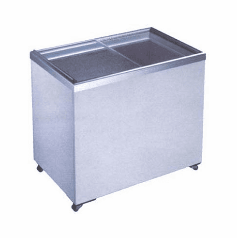 Glass Siliding Top Freezer 18.2 Cf. Capacity