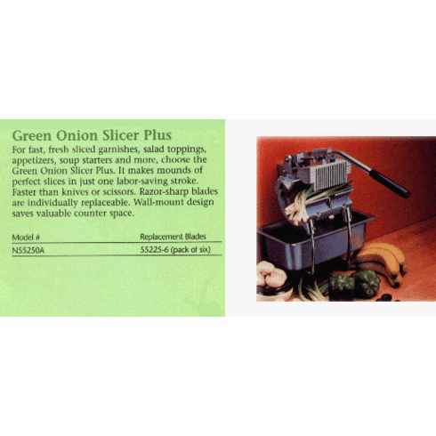 Green Onion Slicer Plus