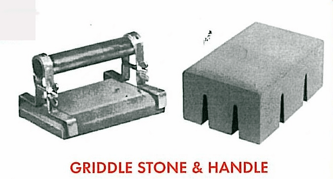 Griddle Stone with Handle