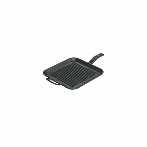 "GRILL PAN SQ. 12""  SEASONED"