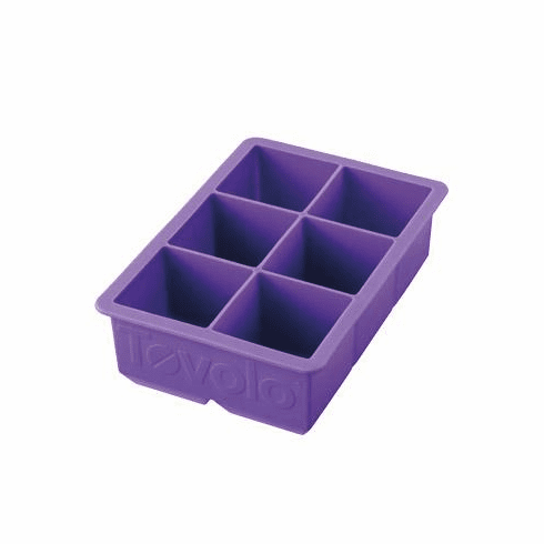 King Cube Tray Royal Purple
