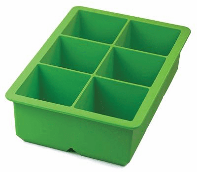 King Ice Cube Tray Lime