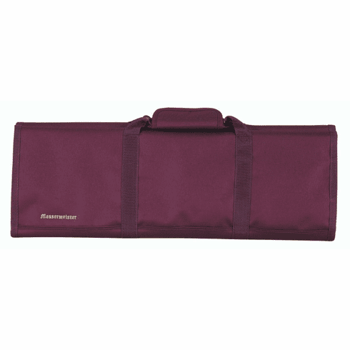 Knife Roll-12 Pockets/ Burgundy