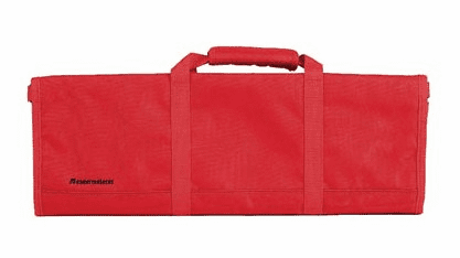 Knife Roll-12 Pockets/ Red