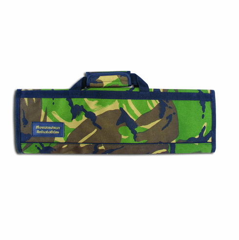Knife Roll-8 Pockets/ Camouflage