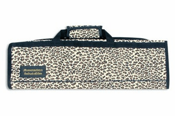 Knife Roll-8 Pockets/ Leopard