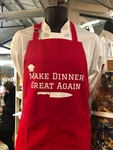 Make Dinner Great Again Apron