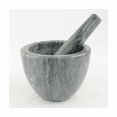 MORTAR & PESTLE GREY MARBLE OUT OF STOCK