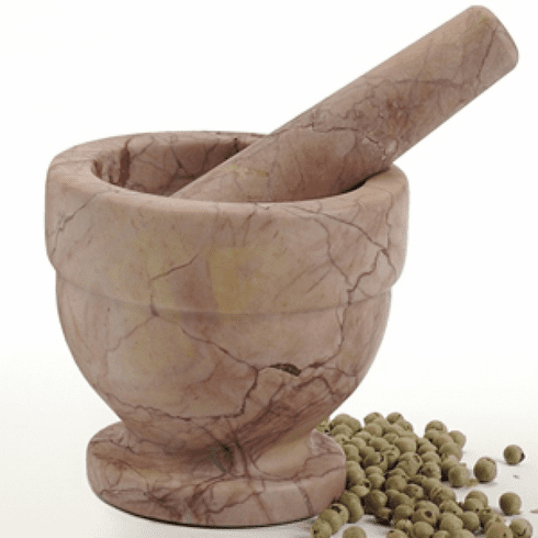 Mortar & Pestle Red Marble OUT OF STOCK