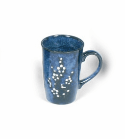 Mug 10oz. Namako Blossoms Blue