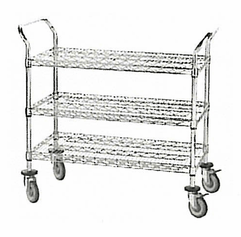 NSF Chrome Utility Carts