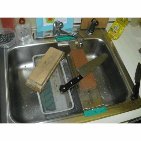 Over-the Sink Stone Holder
