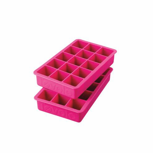 Perfect Ice Cube Tray Fuschia - (Set of 2)