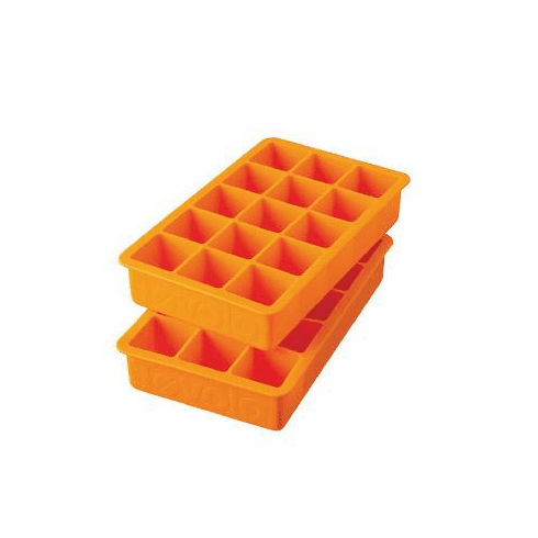 Perfect Ice Cube Trays Orange Peel - (Set of 2)