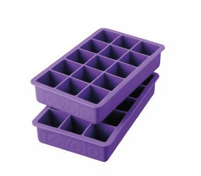 Perfect Ice Cube Trays Royal Purple - (Set of 2)