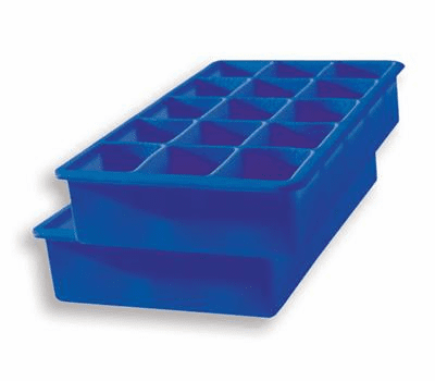 Perfect Ice Cube Trays Stratus Blue - (Set of 2)
