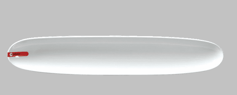 PLATE OVAL 19X3.5 WHITE