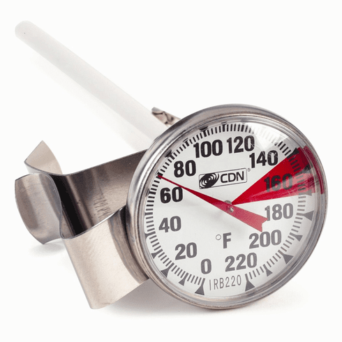 """Proaccurate® Insta-Read® Beverage & Frothing Thermometer - 6.5"""" Stem"""