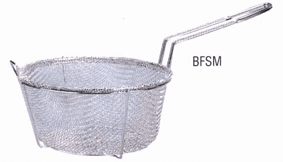 Six Mesh Fryer Baskets