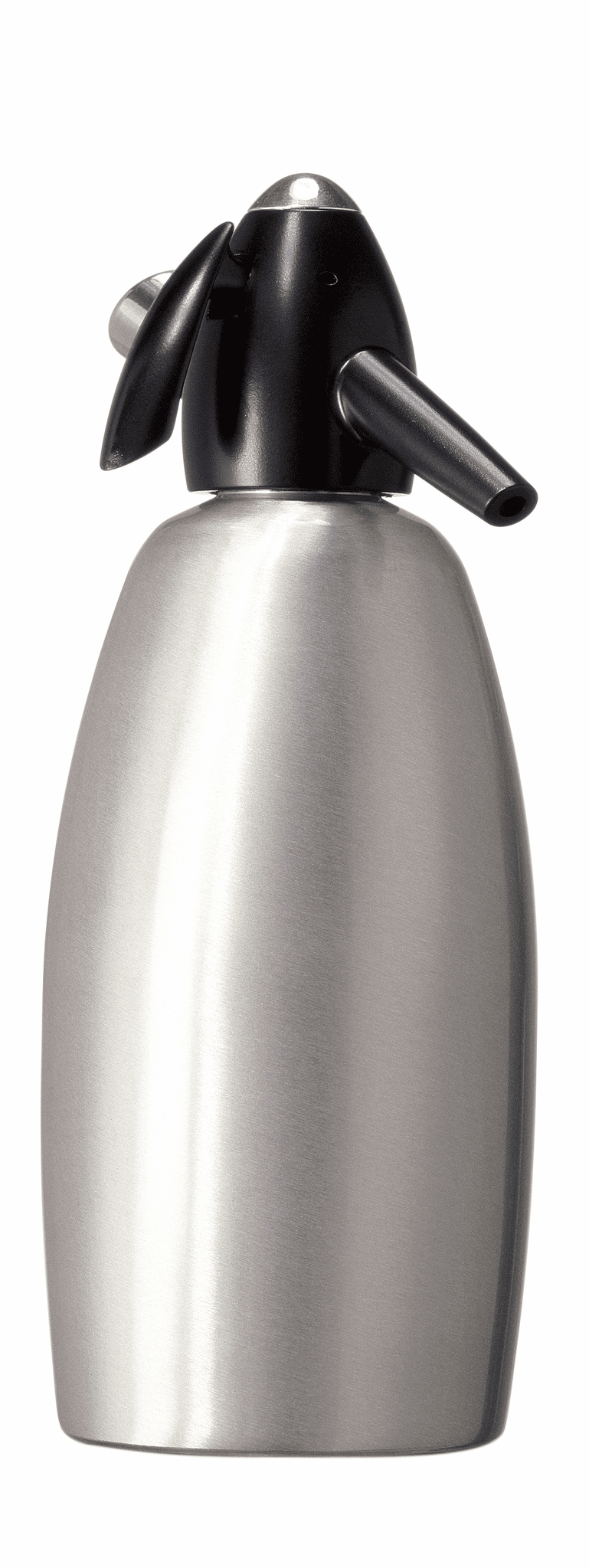 Soda Siphon Alum Brushed 1L
