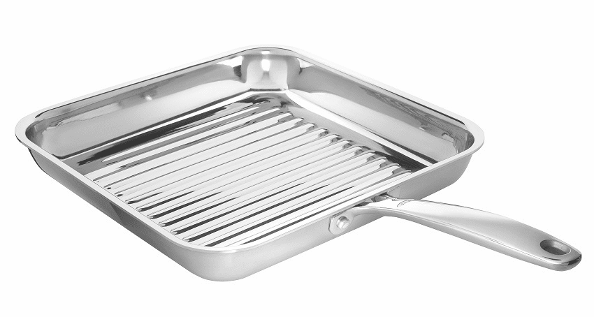 """Square Grill Pan 11"""" SS PRO    """"NOT Available"""""""