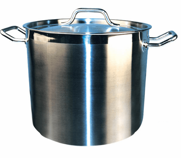 SS Stock Pots with Cover, Induction Ready