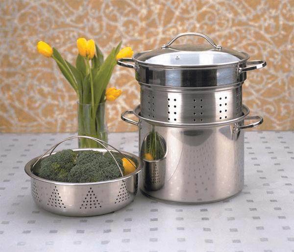 Stainless Steel Multi Cooker 8 Qt