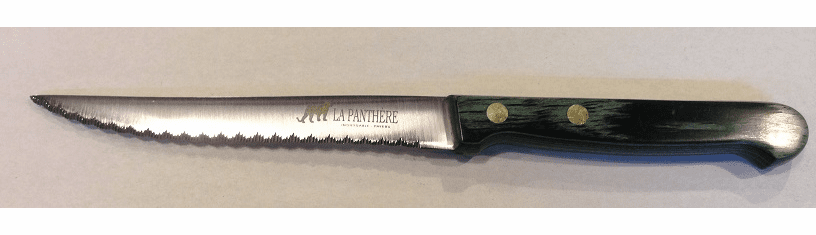 Steak Knife Green Lamina Micro