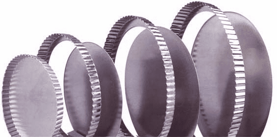 Straight Sided - Fluted Pans