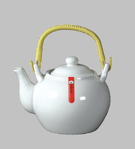TEAPOT 24 OZ WHITE