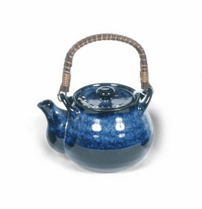 Teapot 24oz. Namako Blossoms Blue