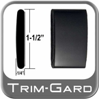 """1-1/2"""" Wide Black (Gloss) Body Side Molding Sold by the Foot, Trim Gard® # CMV02-01"""