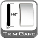 """1-1/2"""" Wide Chrome Body Side Molding Sold by the Foot, Trim Gard® # CMV01-01"""