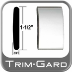"1-1/2"" Wide Chrome Body Side Molding Sold by the Foot, Trim Gard® # CMV01"