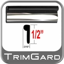 "1/2"" Wide Black-Chrome Wheel Molding Trim Sold by the Foot, Trim Gard® # BV01-01"