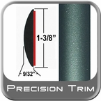 "1-3/8"" Wide Green (Dark) Molding Trim ( PT78 ), Sold by the Foot, Precision Trim® # 17100-78-01"