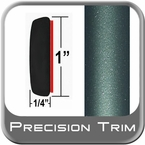 "1"" Wide Green (Dark) Molding Trim ( PT78 ), Sold by the Foot, Precision Trim® # 11100-78-01"
