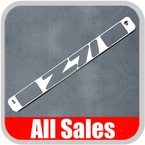 1994-1998 GMC Truck Third Brake Light Cover Polished Aluminum Finish w/ Z71 Cutout Sold Individually All Sales #94008P