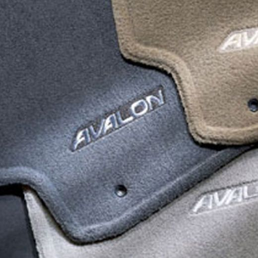 Toyota Avalon Carpeted Floor Mats 1995-1999 Gray 4-Piece Set Genuine Toyota #00200-07950-03