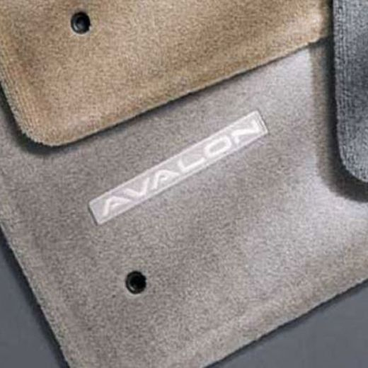 Toyota Avalon Carpeted Floor Mats 1995-1999 Quartz 4-Piece Set Genuine Toyota #00200-07950-23