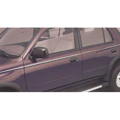 Toyota 4Runner Body Graphics 1996-2002 Driver's Side, Brown, Adheres to Body Side Genuine Toyota #00211-8L964-06